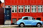 The Red House and the Little Morris