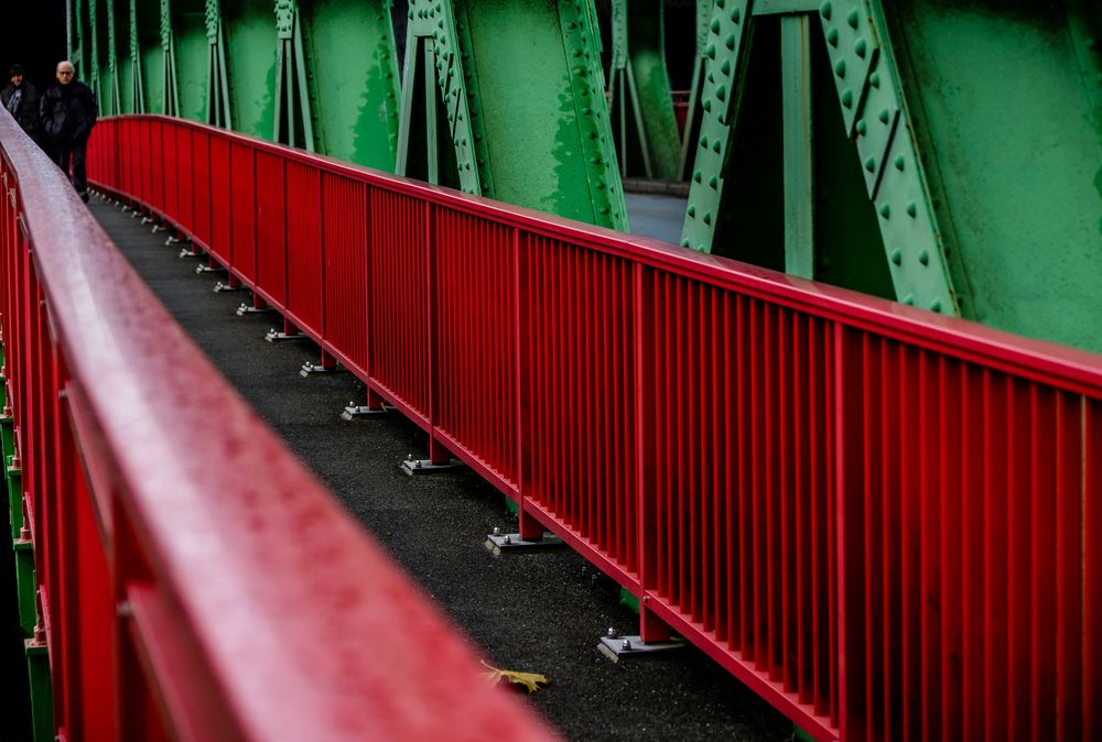 The red railing