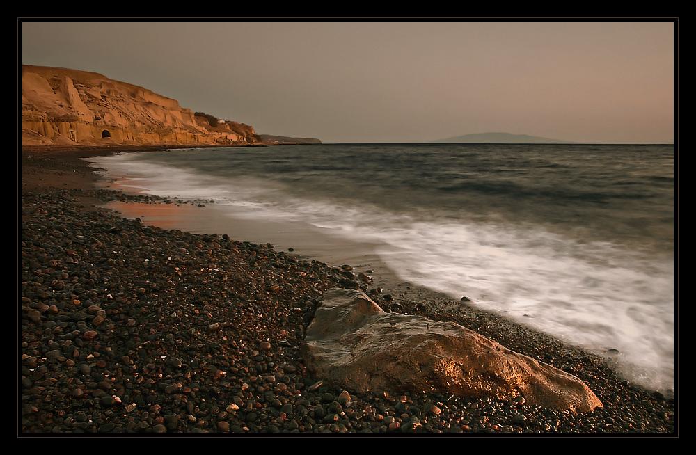 the red shingle beach