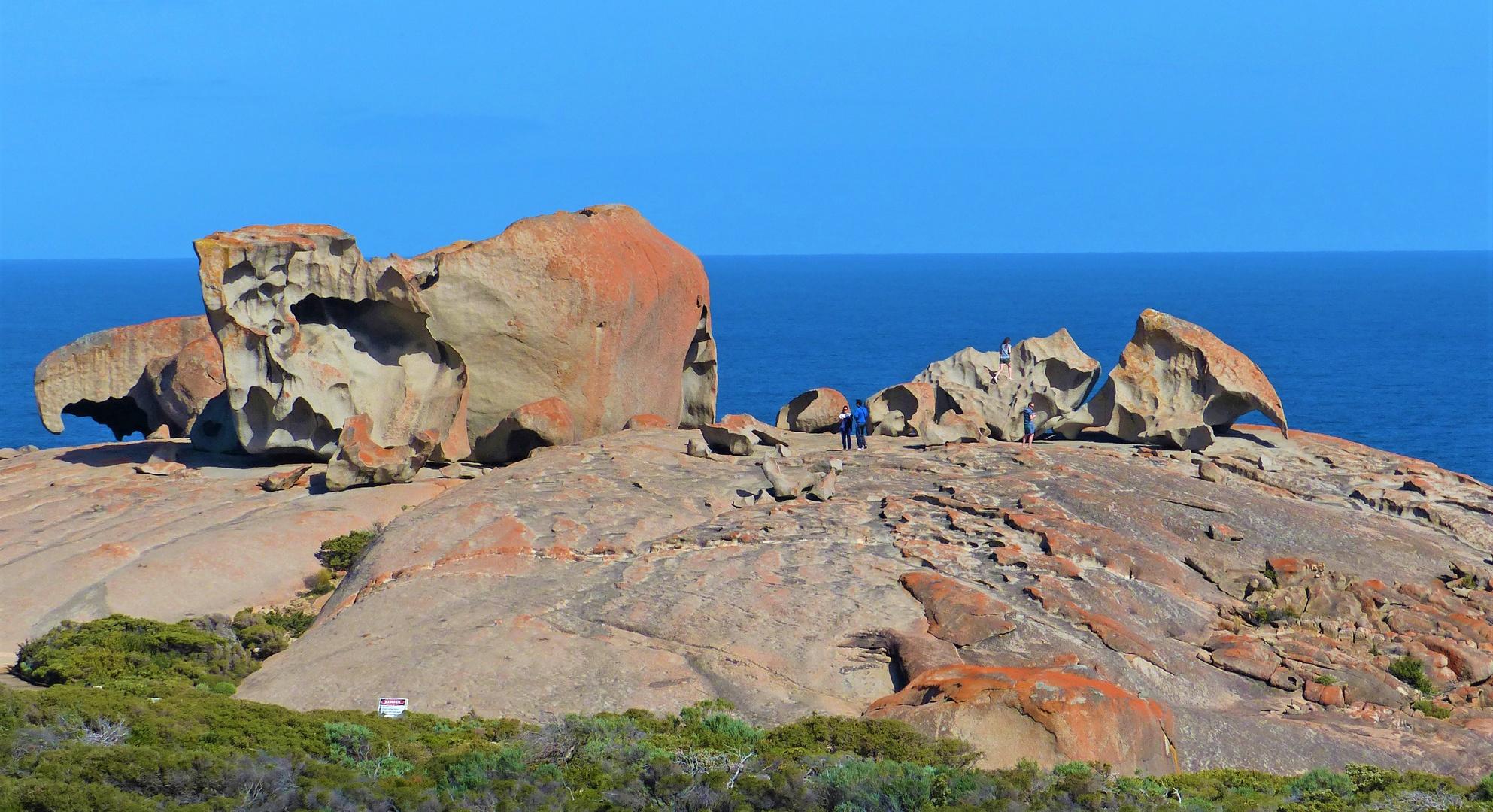 The Remarkable Rocks. Kangaroo Island, South Australia