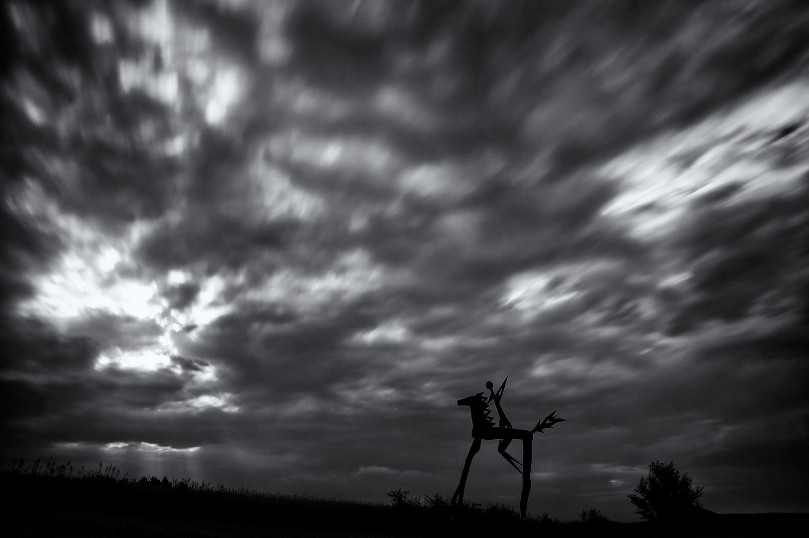 - The rider of the Apocalypse -