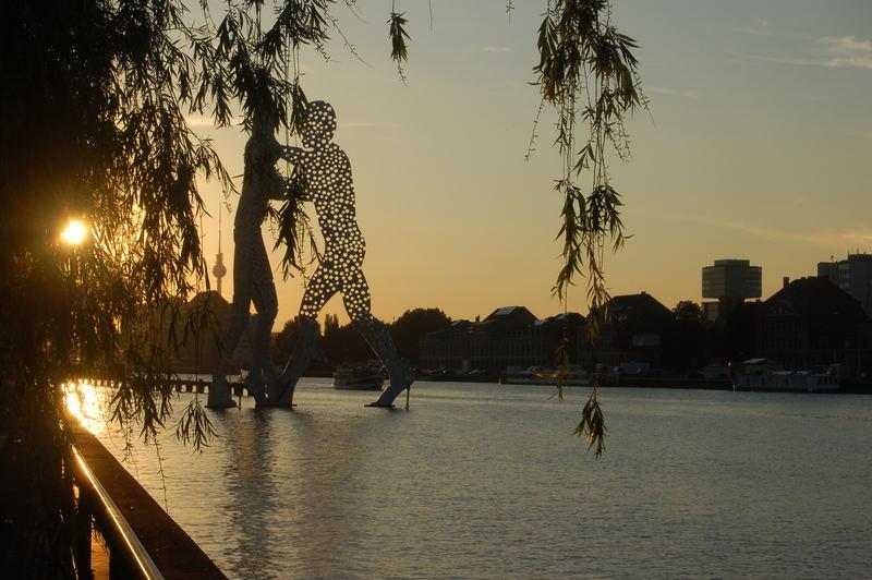 The River Spree near Downtown Berlin