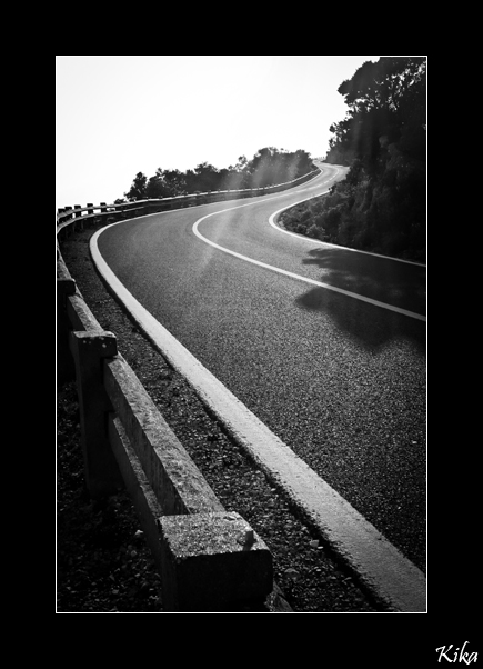 ...the road...