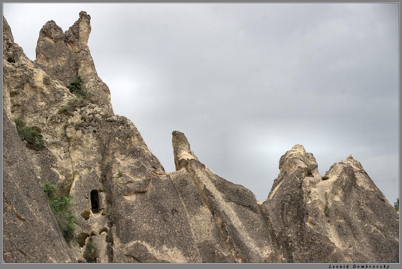 The rock ridge