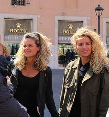 """The Rolex-sisters"" ....sempre bionde e sorridenti..."