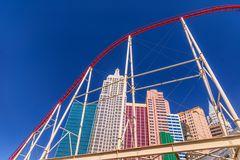The Roller Coaster, New York-New York, Las Vegas, USA