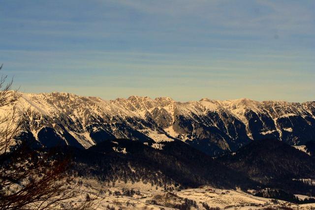 the Romanian mountains