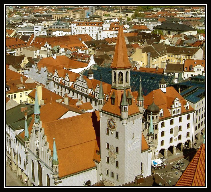 The Roofs of Munich