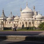 The Royal Pavillion in Brighton (England)
