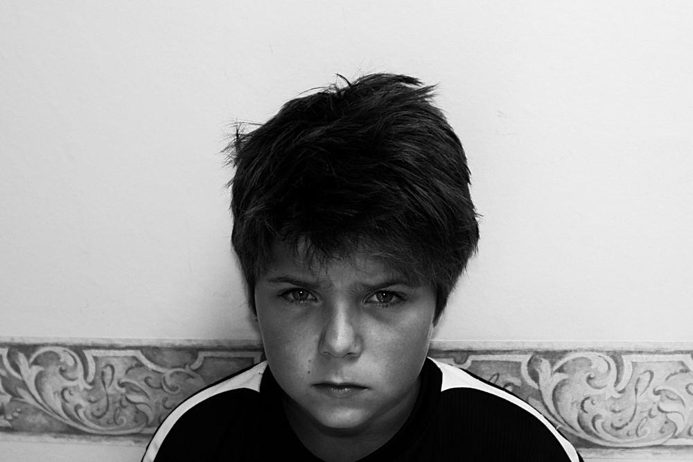 the sad kid