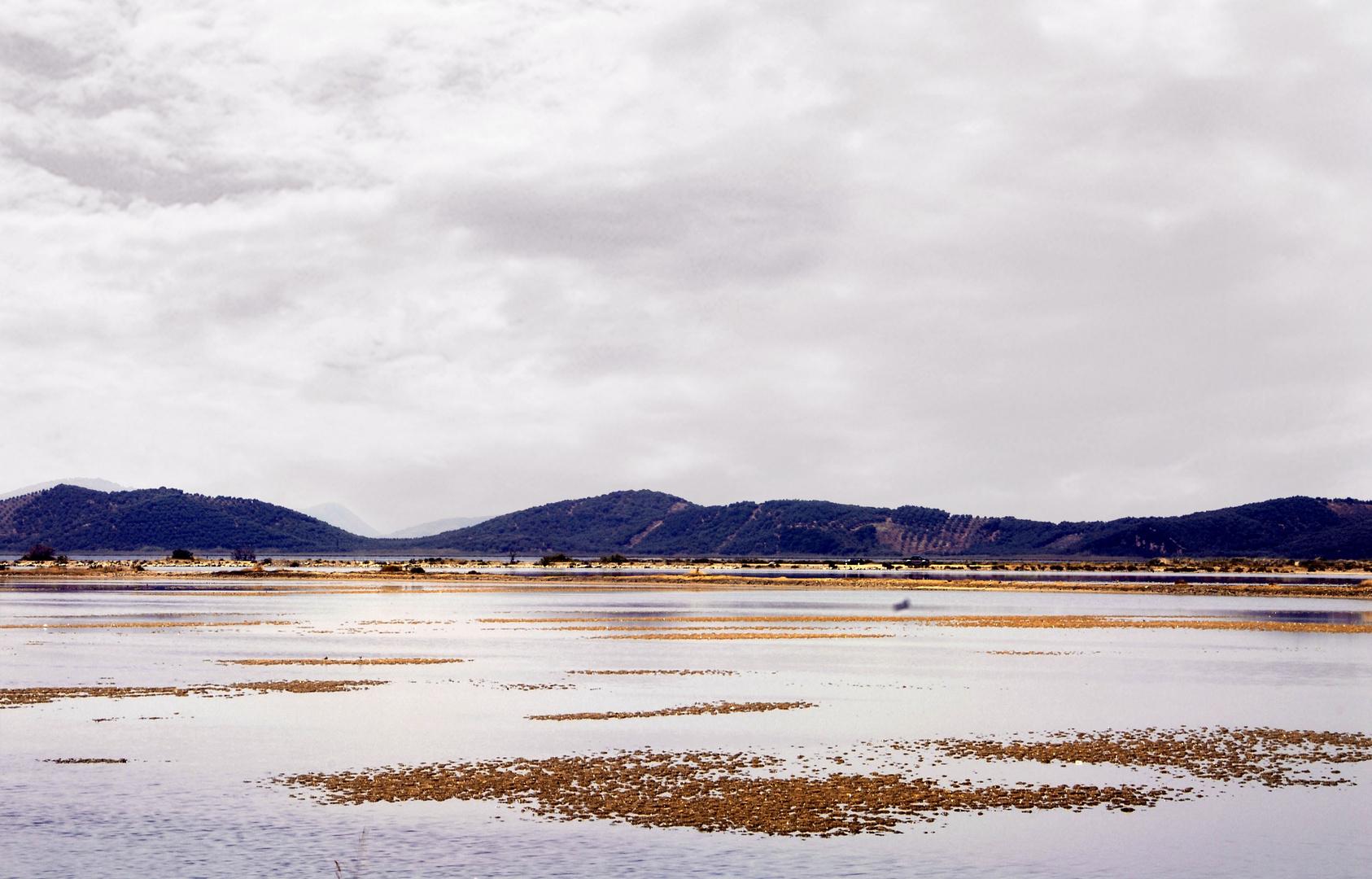 The salt lagoon