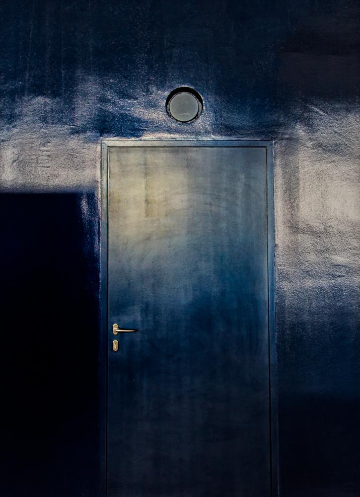 the secret of the blue door