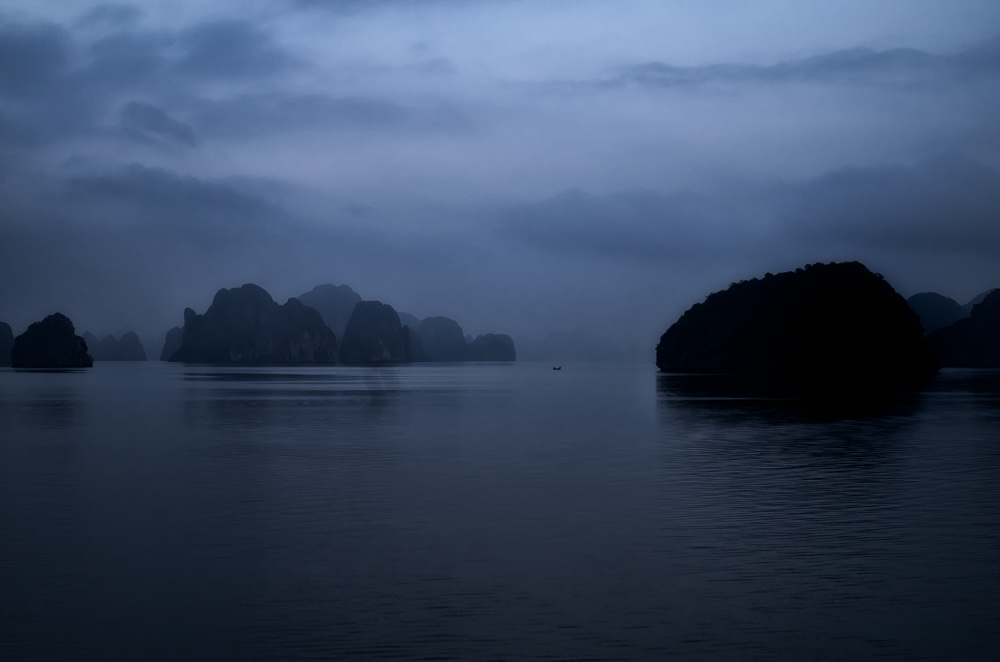 the silence of halong bay