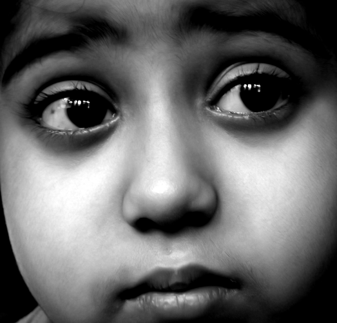 The silent expression...