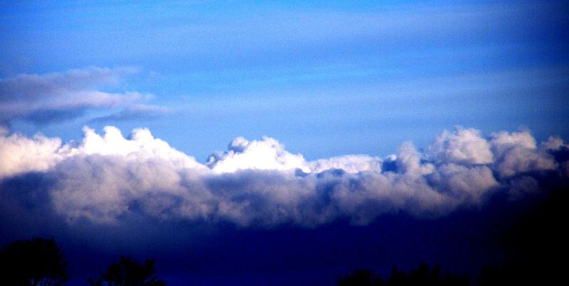 The sky ..