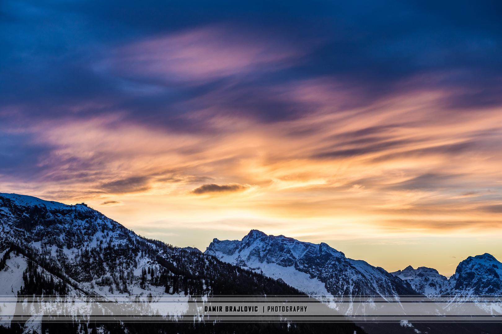 The Sky Is The Limit Foto Bild Landschaft Berge Gipfel Und