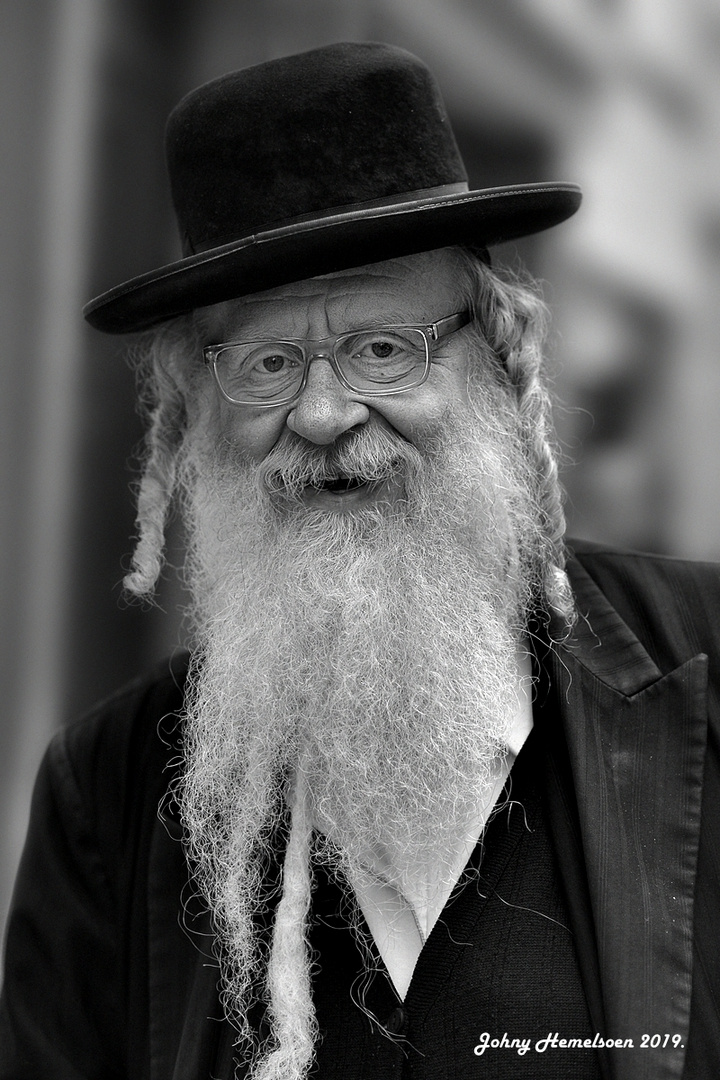 The smiling Jew.