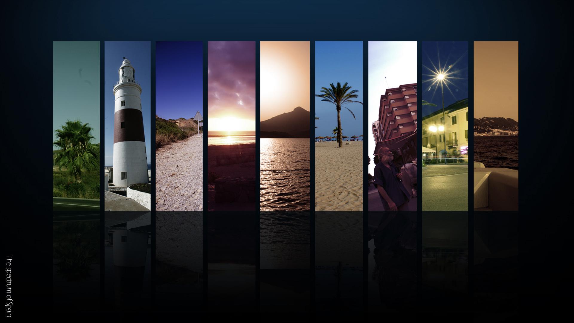 The spectrum of Spain