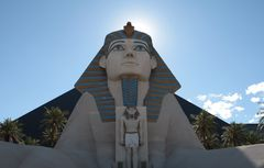 The Sphinx at Luxor Hotel