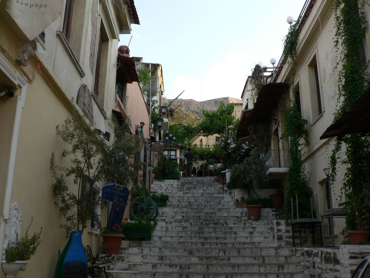 The Stairs to the Holy Site