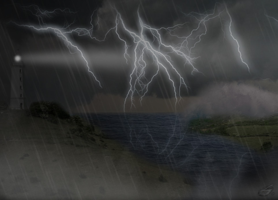 ...The storm....
