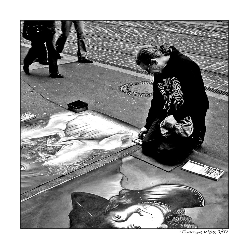 ... the streetpainter ...