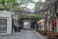 The streets of Foca