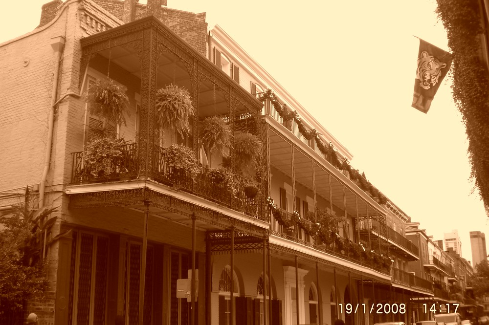 the streets of new orleans