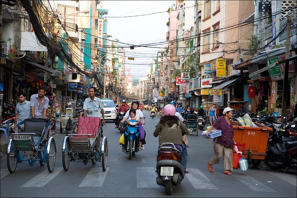 the streets of saigon