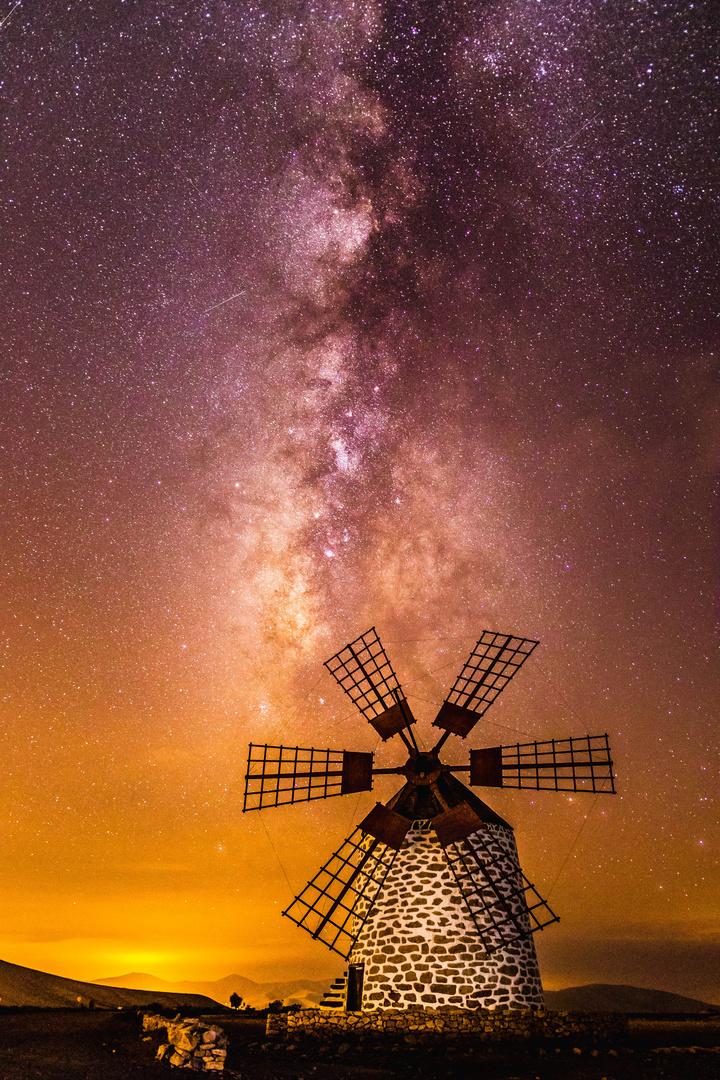 The stunning Windmill of Tefía