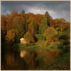 the temple of flora at stourhead in Somerset