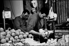 The timid greengrocers