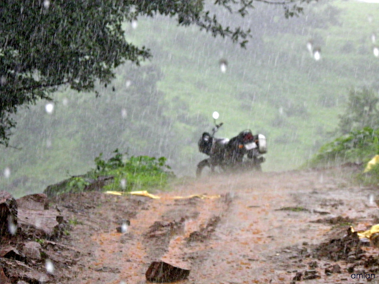 THE TORRENTIAL RAINS OF THE SAHYADRI MOUNTAINS