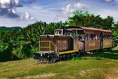 The train to Manaca-Iznaga
