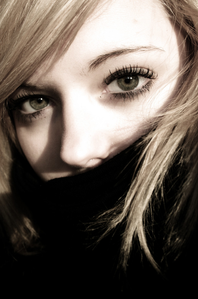 .. the truth is hiding in your eyes.
