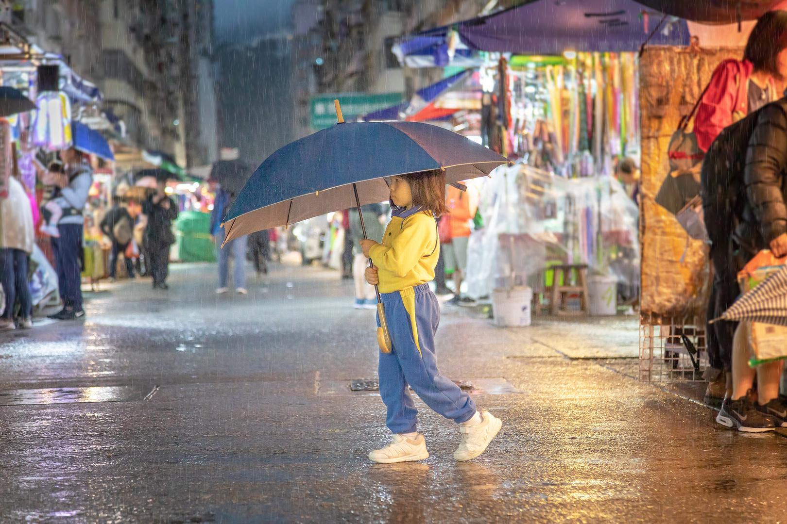 The Umbrella Girl... II