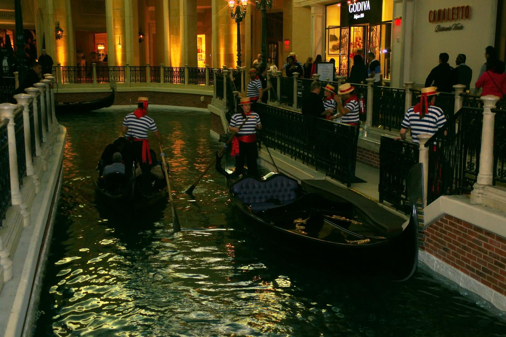 The Venetian Hotel- Canal Grande