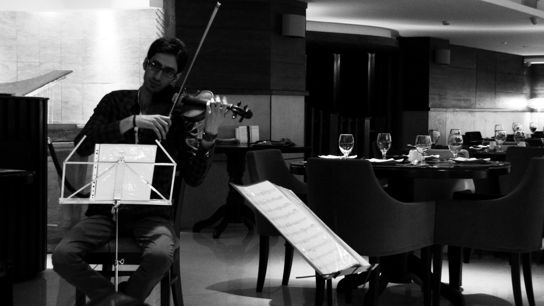 The Violinist | Soheil Shayesteh