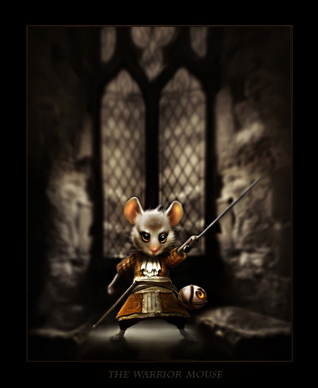 The warrior mouse
