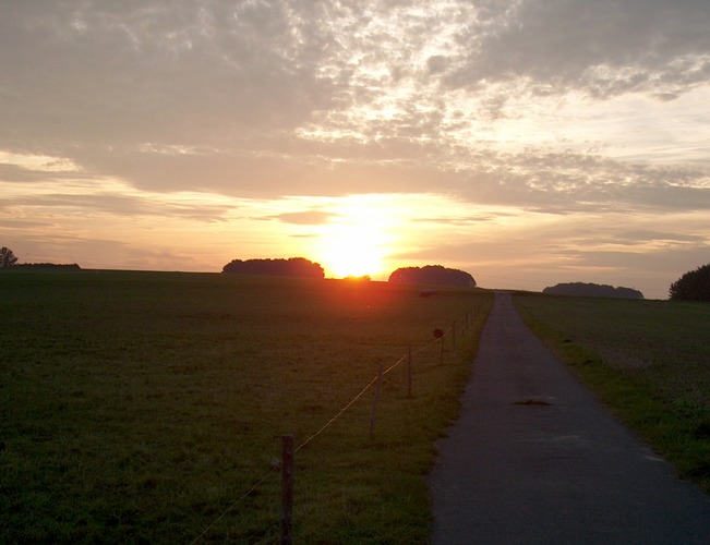 The way to the sun