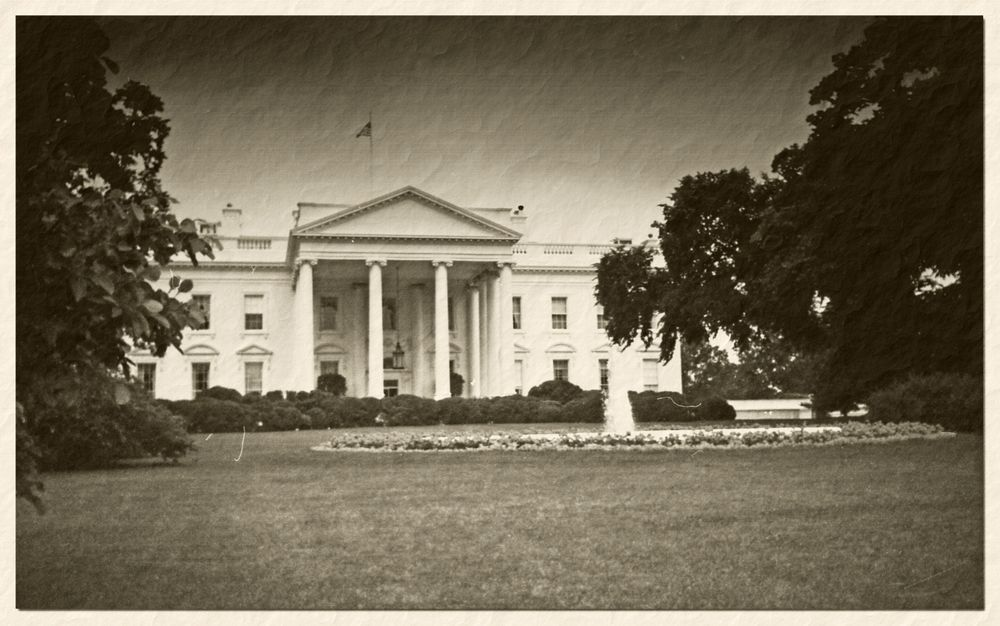 *The white house 1988* Old-Style *