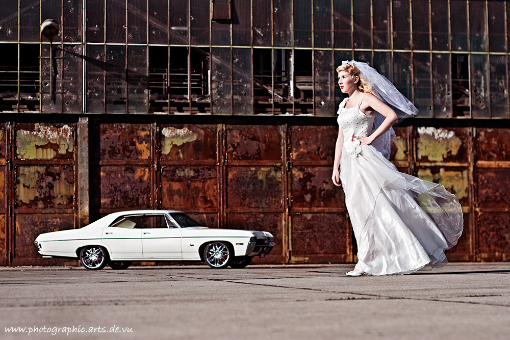 The wife and the Chevy