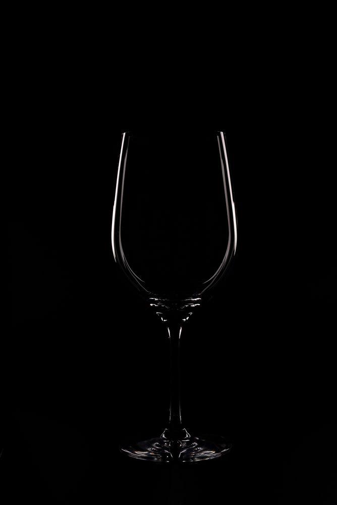 the wine glass