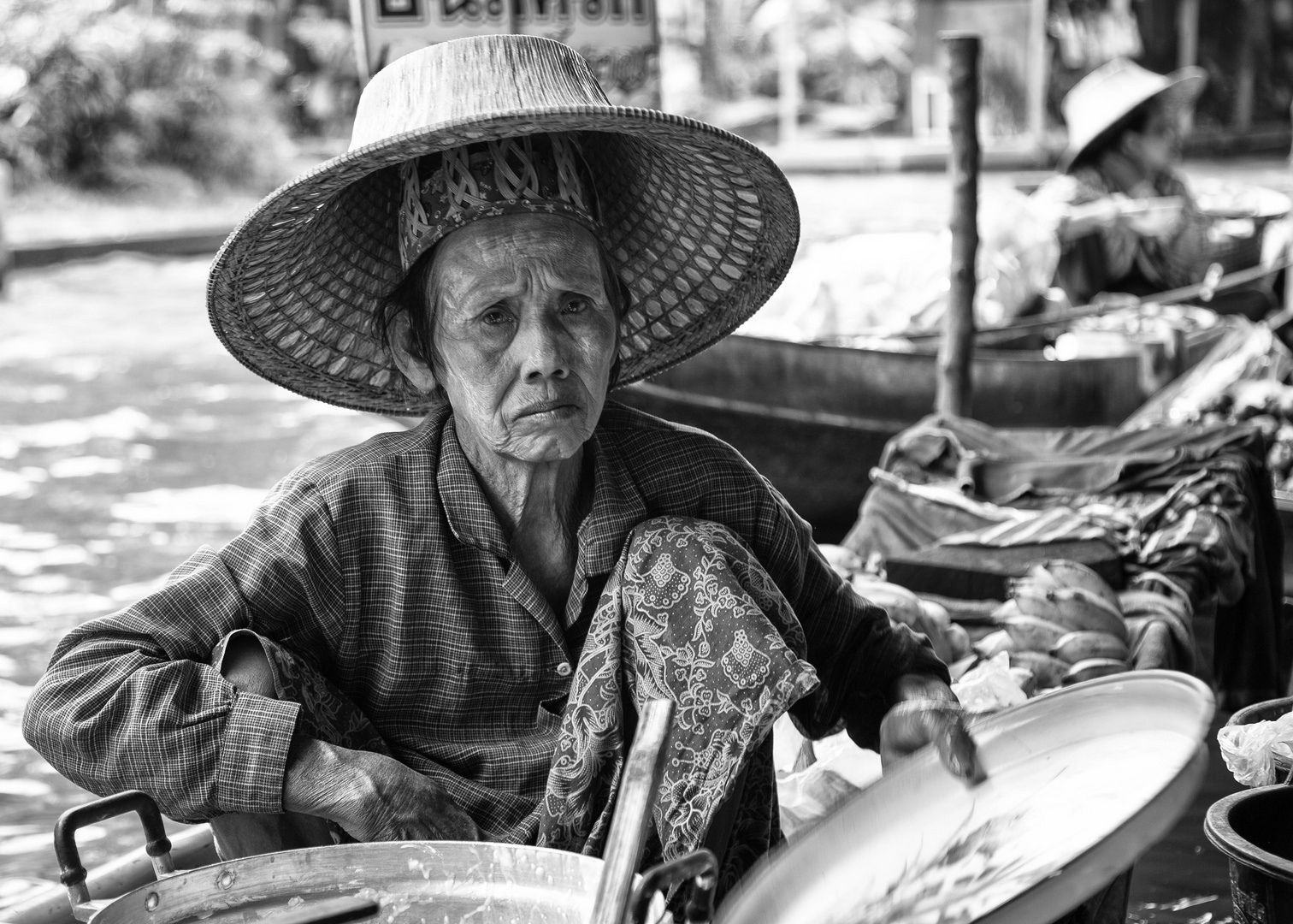 the women of floating market