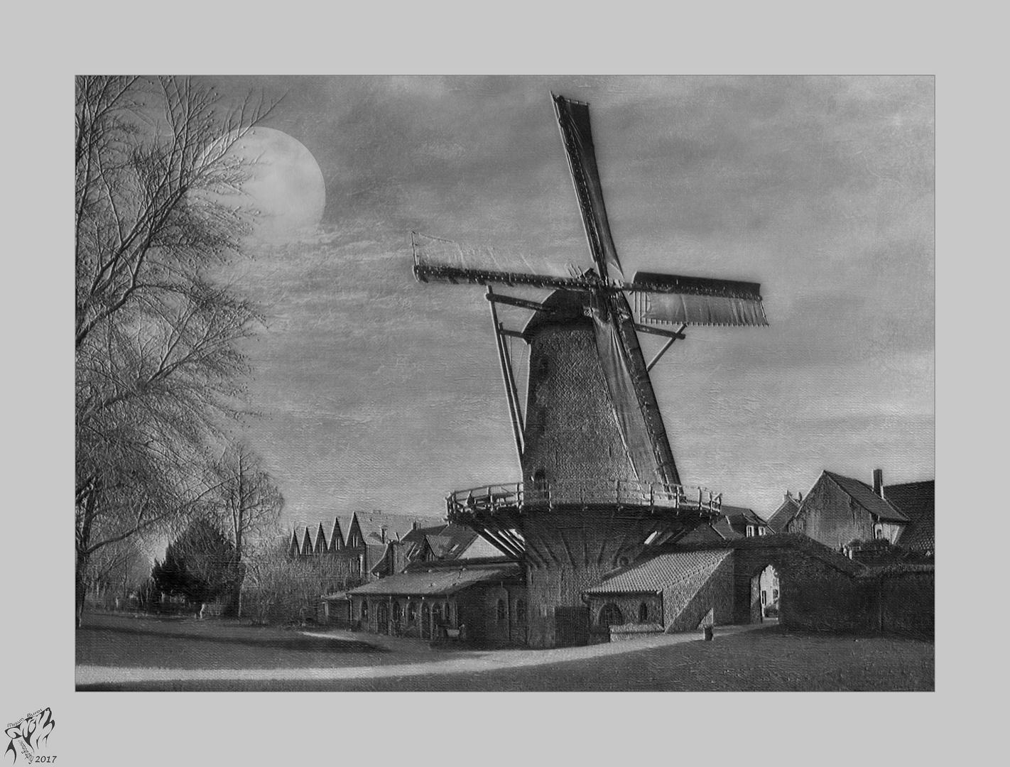 The Xanten windmill ..