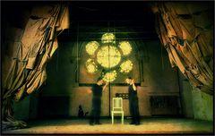 Theater-Bretter die die Welt bedeuten