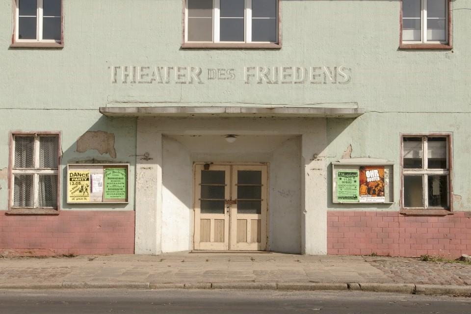 Theater des Friedens in Gartz/Oder