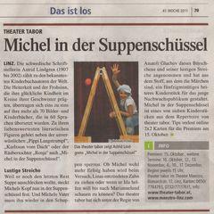 Theater Tabor - Michel in der Suppenschüssel