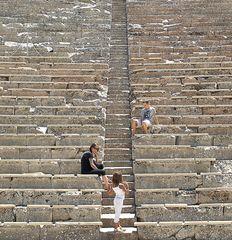 Theater von Asklipio von Epidaurus