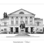 THEATERPLATZ - WEIMAR -